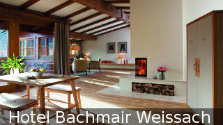Hotel Bachmair in Weissach / Rottach-Egern / Tegernsee